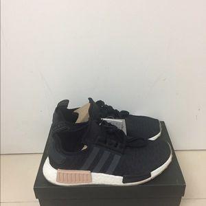 d8e8c23746c5c adidas Shoes - Nmd R1 Black Indigo CQ2011